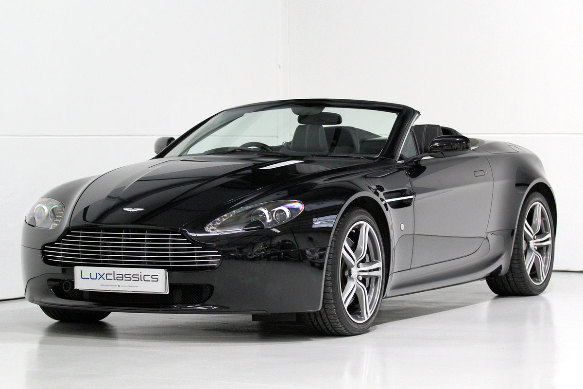 2009 Aston Martin V8 Vantage Roadster N400 rare manual For Sale (picture 3 of 6)