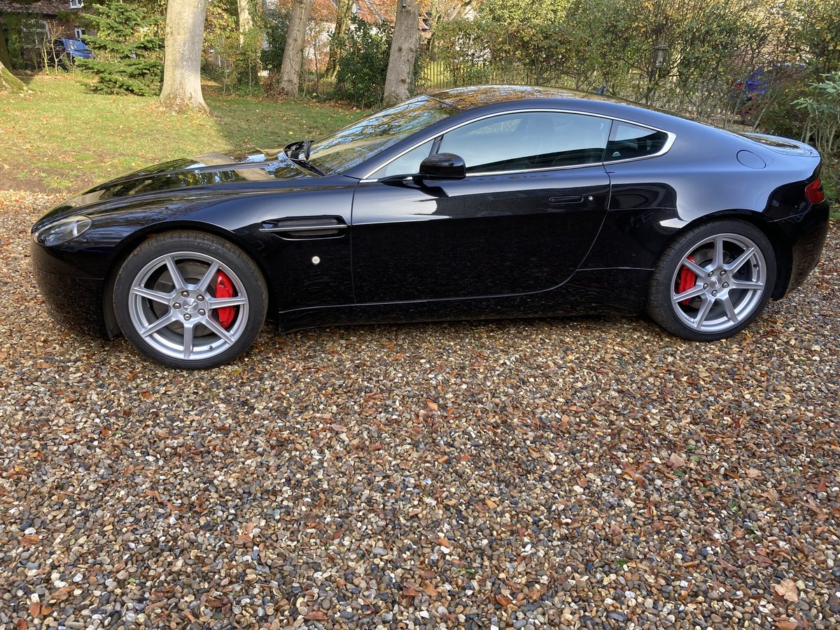 2006 Aston Martin V8 Vantage 4.3 Manual For Sale (picture 4 of 6)