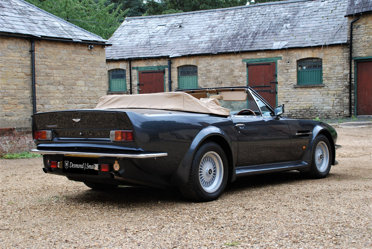 1989 ASton Martin V8 Vantage Volante X Pack Manual For Sale (picture 3 of 6)