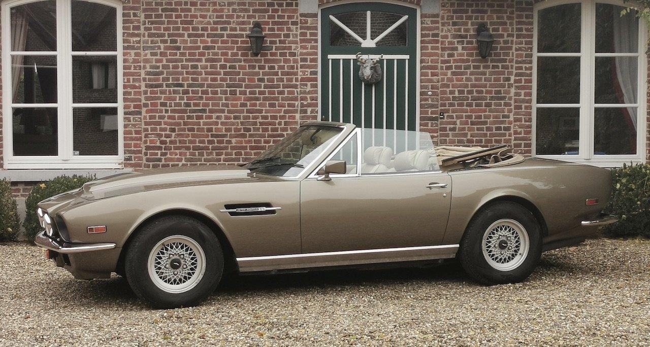 1985 Aston Martin V8 Volante Cabrio 5.3 For Sale (picture 1 of 6)