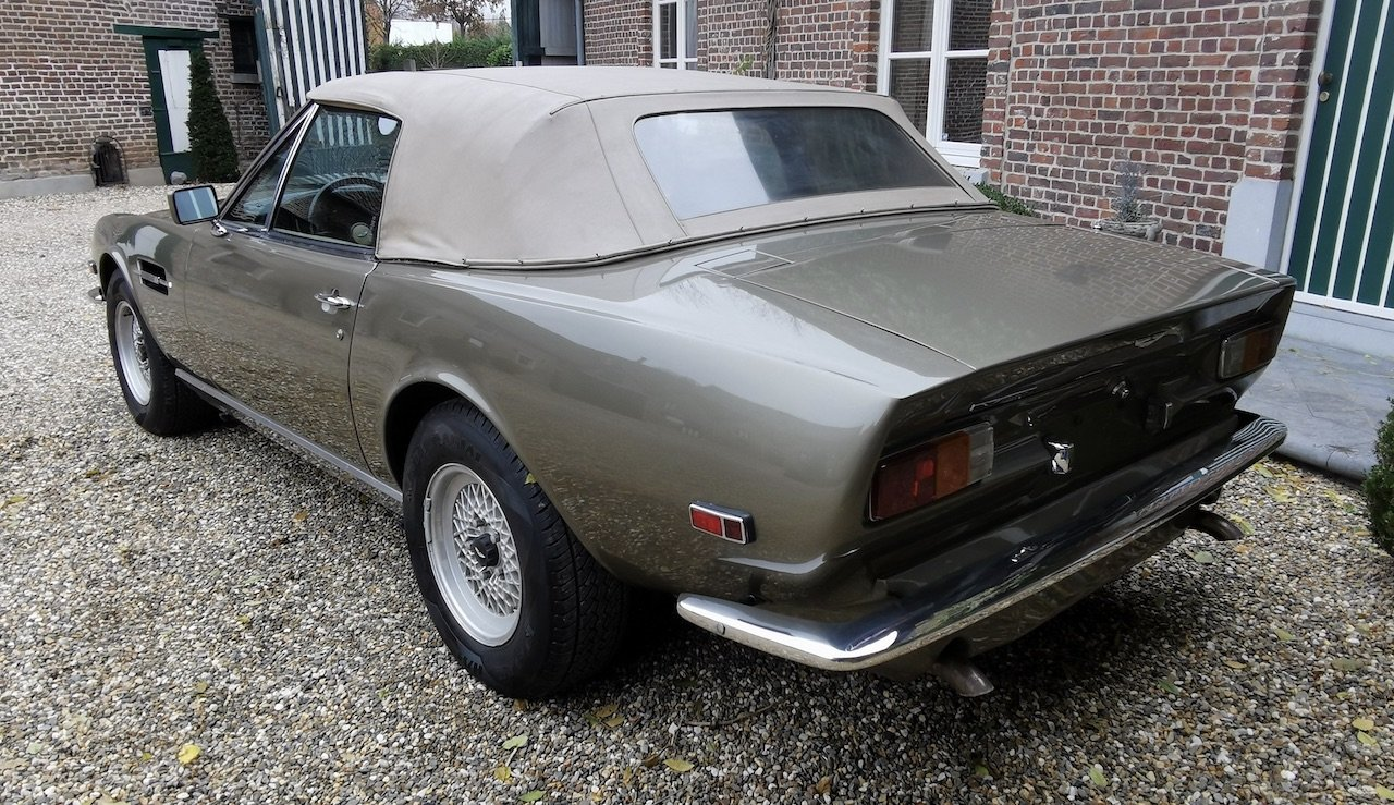 1985 Aston Martin V8 Volante Cabrio 5.3 For Sale (picture 2 of 6)