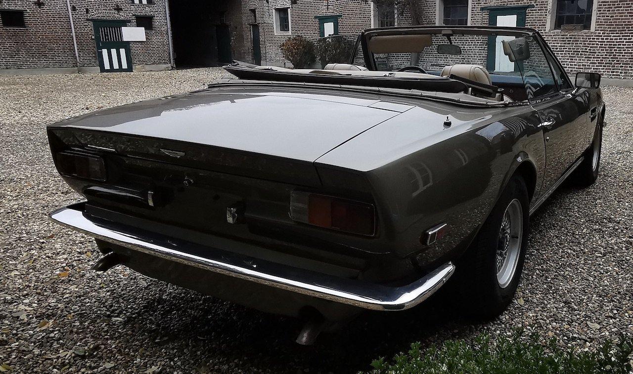 1985 Aston Martin V8 Volante Cabrio 5.3 For Sale (picture 3 of 6)