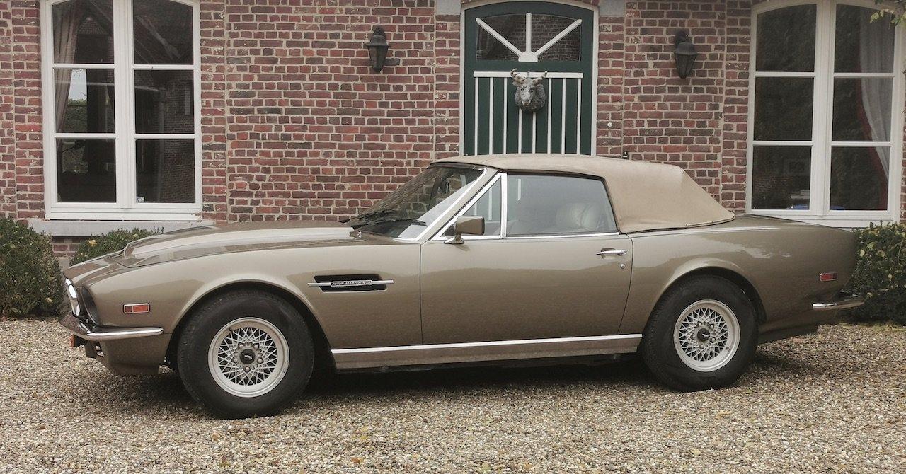 1985 Aston Martin V8 Volante Cabrio 5.3 For Sale (picture 6 of 6)