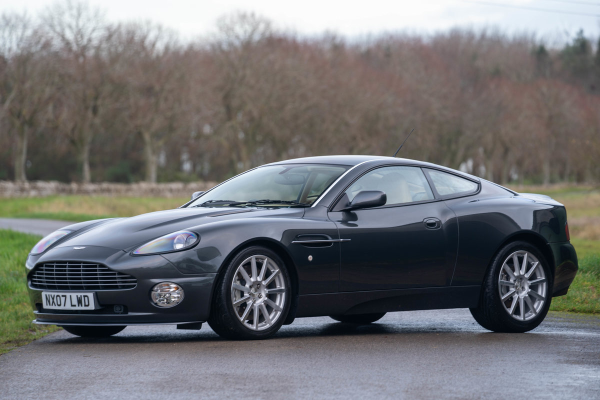2007 Aston Martin Vanquish S Manual Conversion 13 500 Miles For Sale Car And Classic Car And Classic