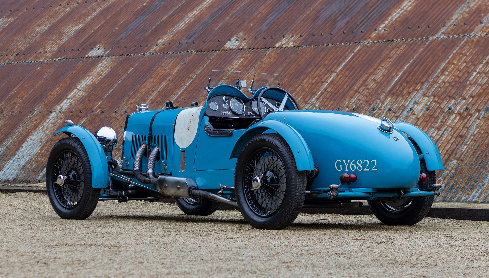 1931 ASTON MARTIN INTERNATIONAL LE MANS – BROOKLANDS HISTORY For Sale (picture 3 of 18)