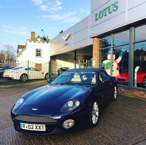 Picture of 2002 Aston Martin DB7 Vantage Volante Automatic low miles  For Sale