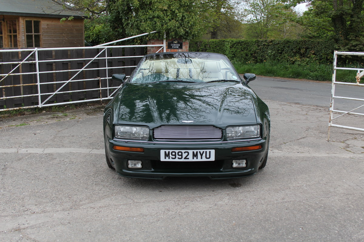 1995 Aston Martin Virage Volante Widebody For Sale (picture 2 of 22)