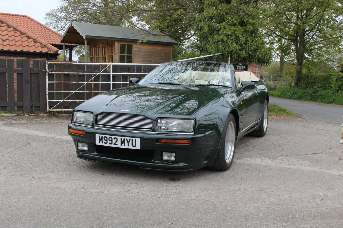 1995 Aston Martin Virage Volante Widebody For Sale (picture 3 of 22)