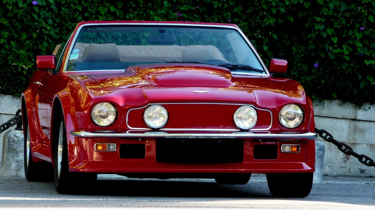 1988 V8 VANTAGE VOLANTE X PACK AS NEW For Sale (picture 4 of 12)