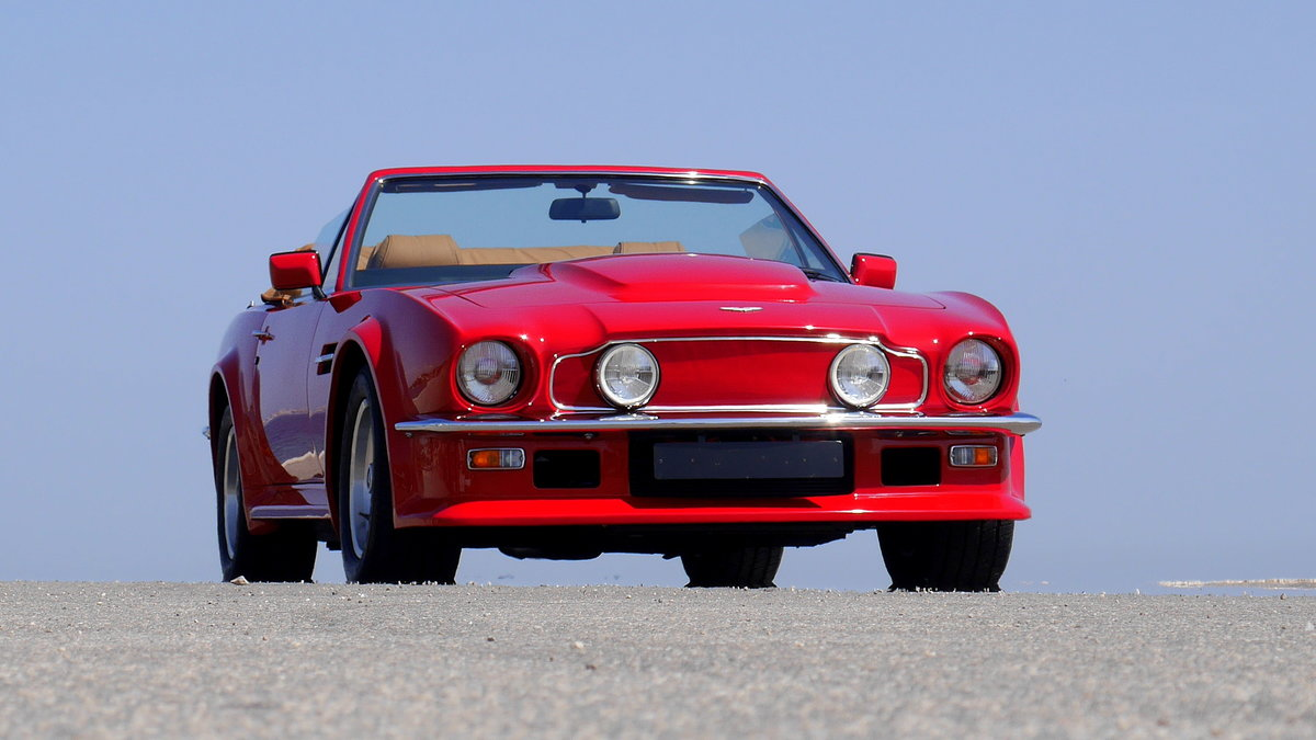 1988 V8 VANTAGE VOLANTE X PACK AS NEW For Sale (picture 12 of 12)