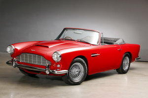 Picture of 1963 DB 4 Serie 5 Vantage Convertible For Sale