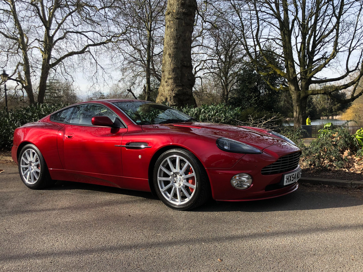 2004 Aston Martin V12 Vanquish S For Sale (picture 2 of 31)