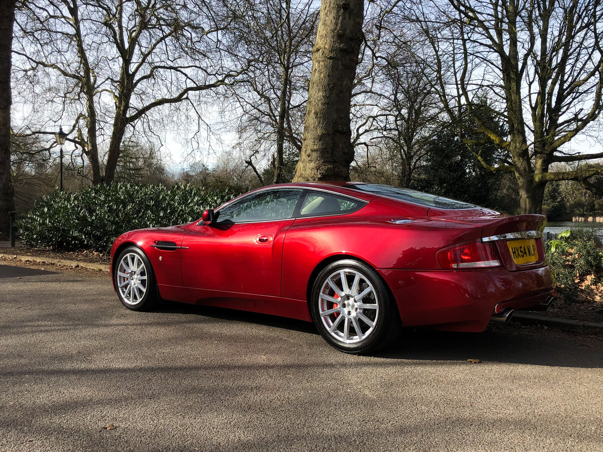 2004 Aston Martin V12 Vanquish S For Sale (picture 7 of 31)