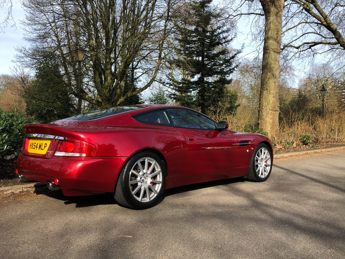 2004 Aston Martin V12 Vanquish S For Sale (picture 8 of 31)