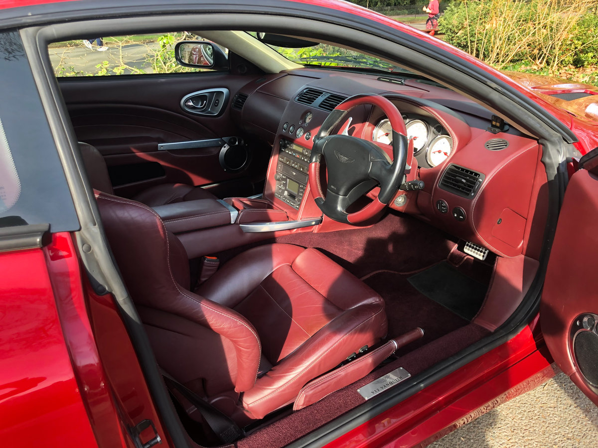 2004 Aston Martin V12 Vanquish S For Sale (picture 10 of 31)