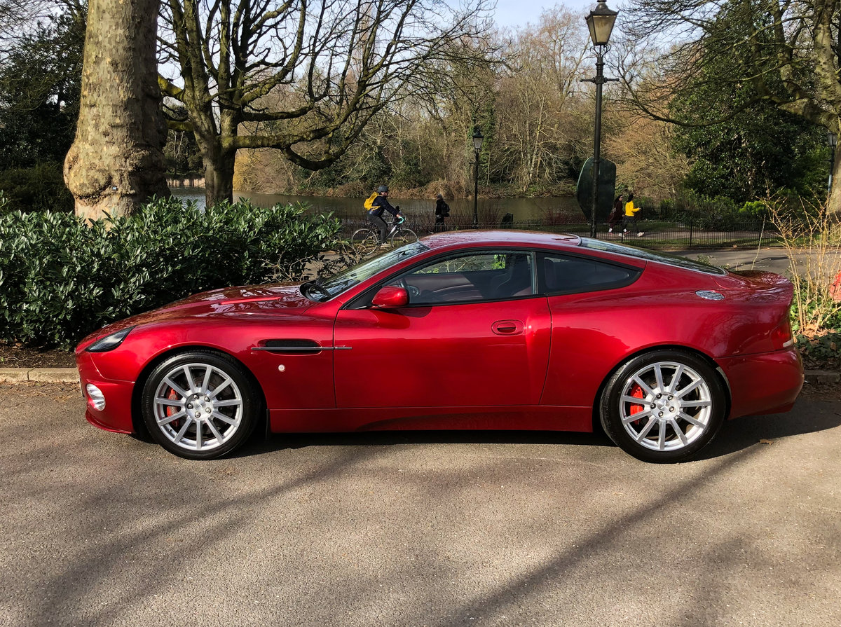2004 Aston Martin V12 Vanquish S For Sale (picture 22 of 31)