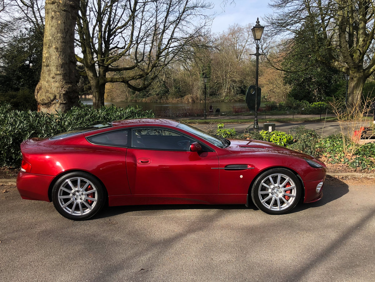 2004 Aston Martin V12 Vanquish S For Sale (picture 23 of 31)