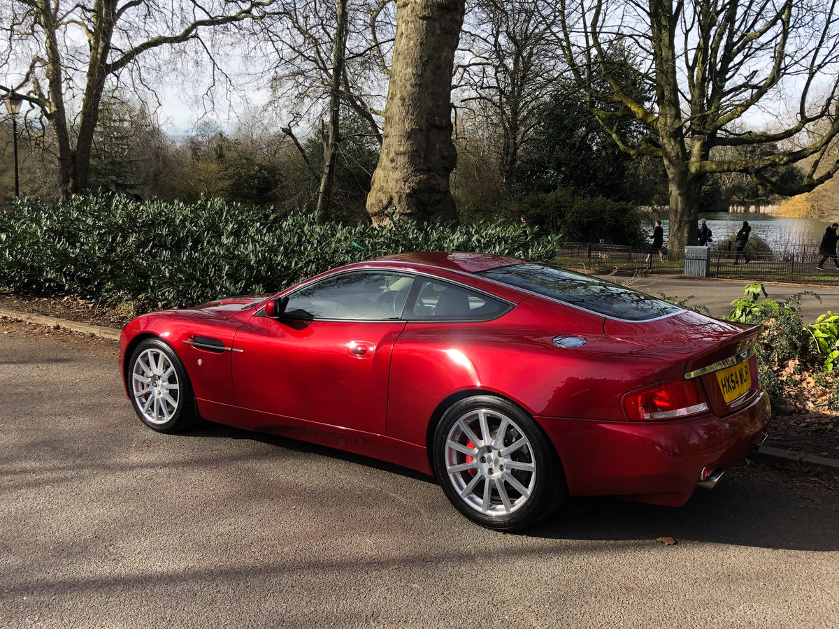 2004 Aston Martin V12 Vanquish S For Sale (picture 25 of 31)