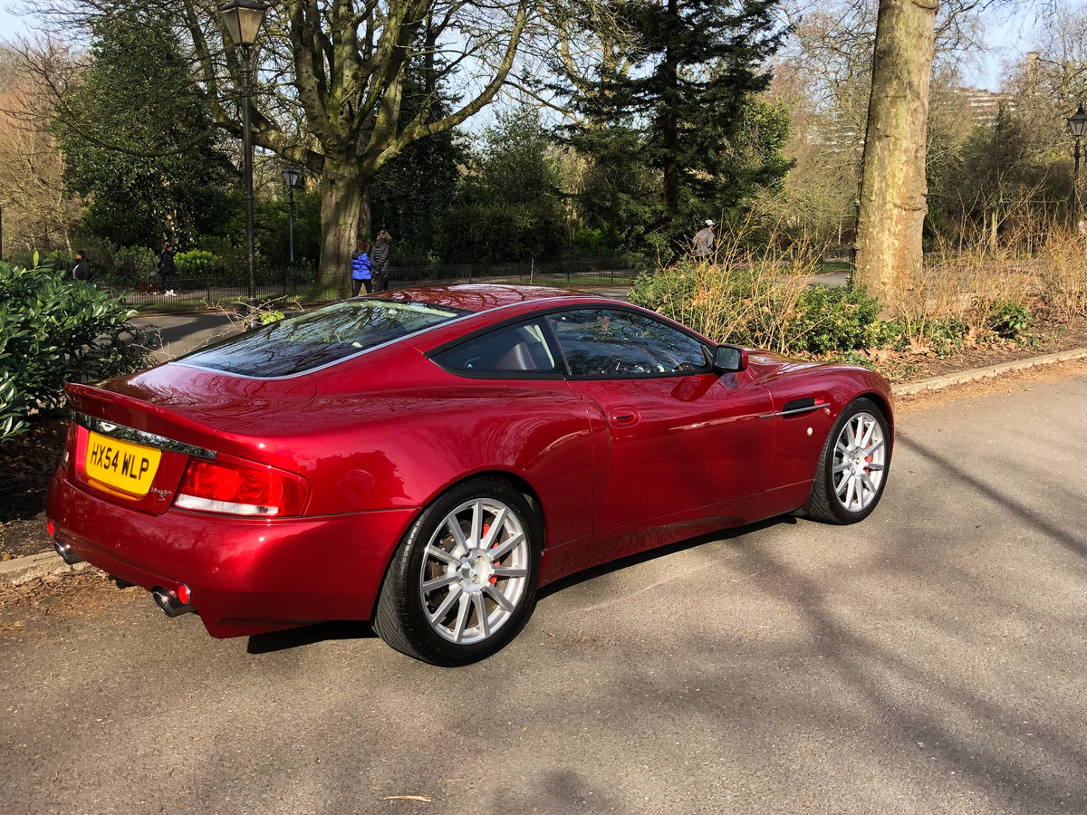 2004 Aston Martin V12 Vanquish S For Sale (picture 26 of 31)