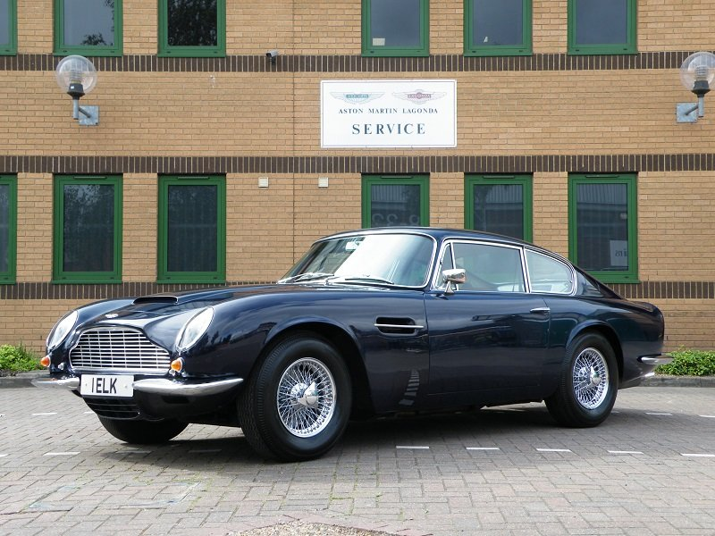 1969 DB6 MK11. 1 Owner. Matching Numbers For Sale (picture 1 of 12)