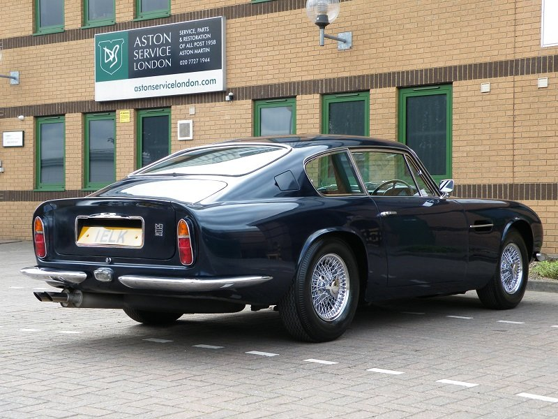 1969 DB6 MK11. 1 Owner. Matching Numbers For Sale (picture 3 of 12)
