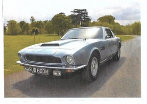 Picture of 1973 Cambridge Blue Aston Martin DBS V8 For Sale