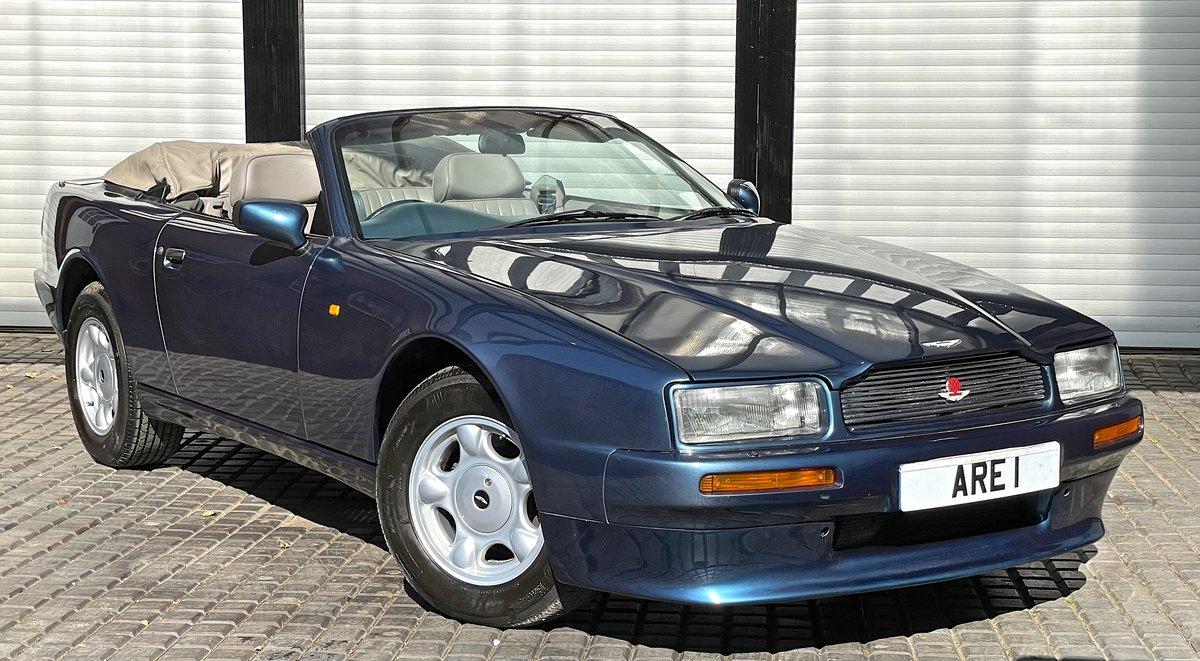 1992 Aston Martin Virage Volante 5.3 V8      Convertible For Sale (picture 2 of 12)