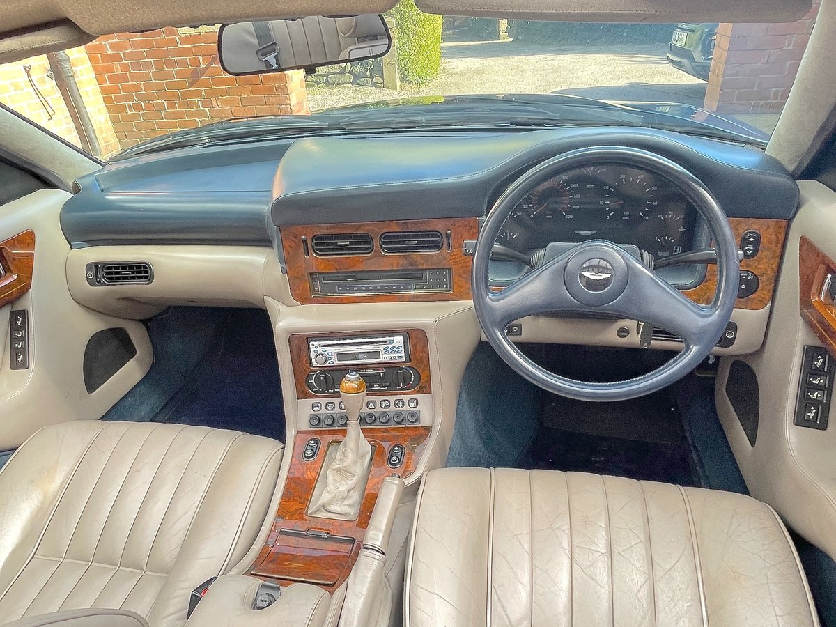 1992 Aston Martin Virage Volante 5.3 V8      Convertible For Sale (picture 9 of 12)