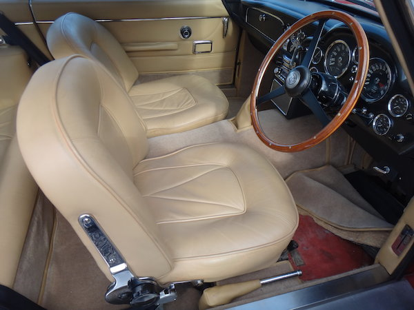 1967 Aston Martin DB6 Sports Saloon For Sale by Auction (picture 5 of 7)