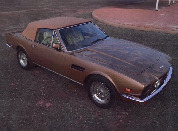 1986 Aston Martin V8 Volante For Sale by Auction (picture 1 of 15)