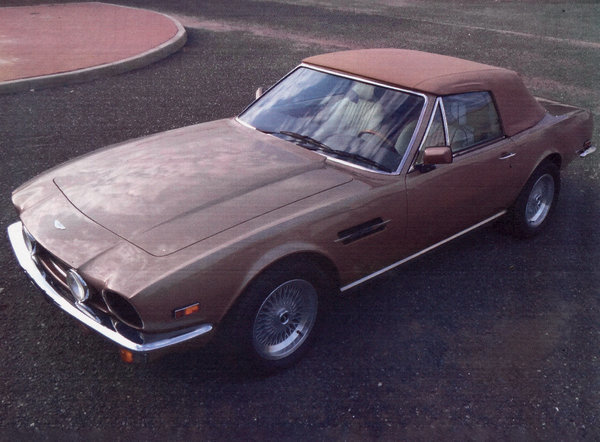 1986 Aston Martin V8 Volante For Sale by Auction (picture 2 of 15)