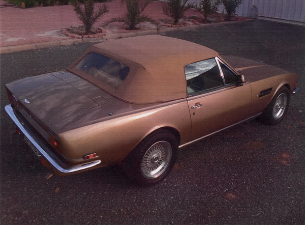1986 Aston Martin V8 Volante For Sale by Auction (picture 4 of 15)