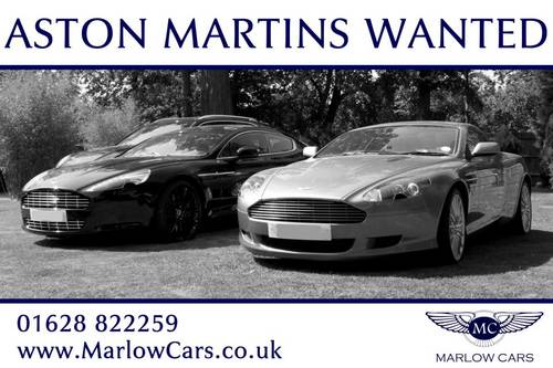 ASTON MARTIN WANTED Wanted (picture 1 of 1)