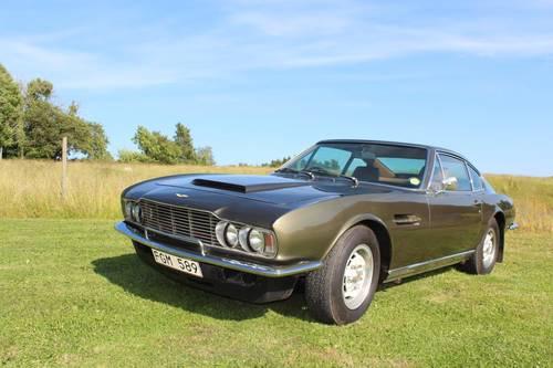 1972 Aston Martin Dbs V8 Original Car Sold Car And Classic