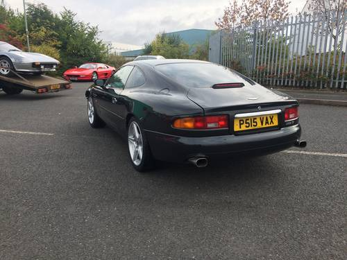 1997 Aston Martin Db7 Vantage For Sale Damaged Salvage Sold Car And Classic