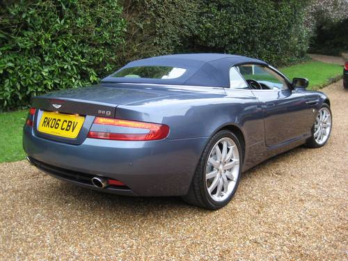 2006 Aston Martin DB9 Volante With Only 29,000 Miles From New For Sale (picture 5 of 6)