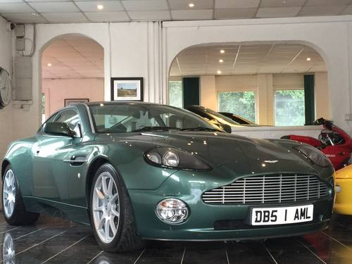 2003 Aston Martin Vanquish 6.0 V12 2+2 Sports Dynamic Pack For Sale (picture 1 of 6)
