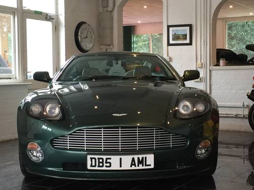 2003 Aston Martin Vanquish 6.0 V12 2+2 Sports Dynamic Pack For Sale (picture 2 of 6)