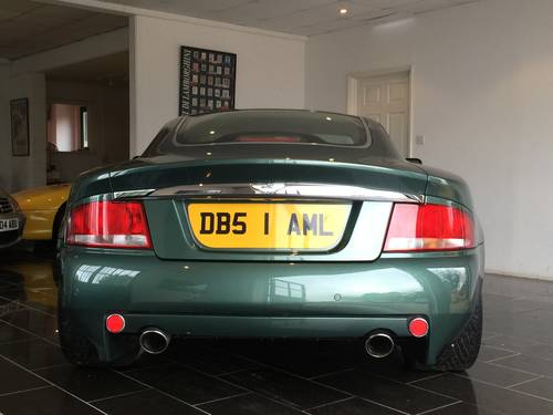 2003 Aston Martin Vanquish 6.0 V12 2+2 Sports Dynamic Pack For Sale (picture 4 of 6)