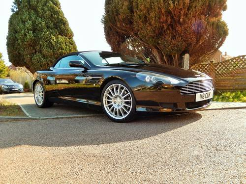 2006 Aston Martin DB9 Volante With Full Aston Main Agent History For Sale (picture 1 of 6)