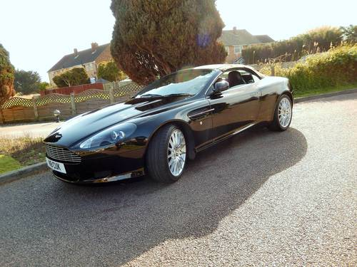 2006 Aston Martin DB9 Volante With Full Aston Main Agent History For Sale (picture 2 of 6)