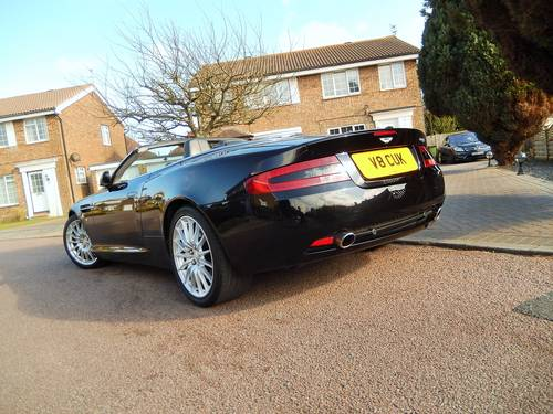 2006 Aston Martin DB9 Volante With Full Aston Main Agent History For Sale (picture 5 of 6)