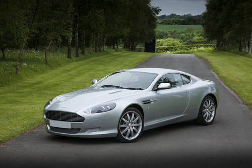 Aston Martin DB9 2005 SOLD (picture 1 of 6)