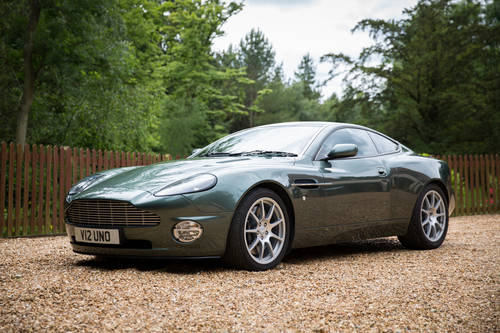 2002 ASTON MARTIN VANQUISH TO 'S' SPEC **SOLD** For Sale (picture 1 of 6)