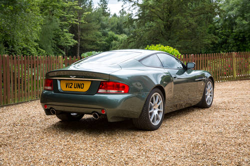 2002 ASTON MARTIN VANQUISH TO 'S' SPEC **SOLD** For Sale (picture 2 of 6)