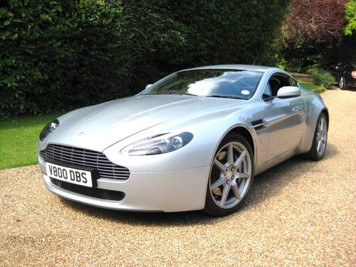 2006 Aston Martin Vantage V8 With Full Aston Main Agent History For Sale (picture 2 of 6)