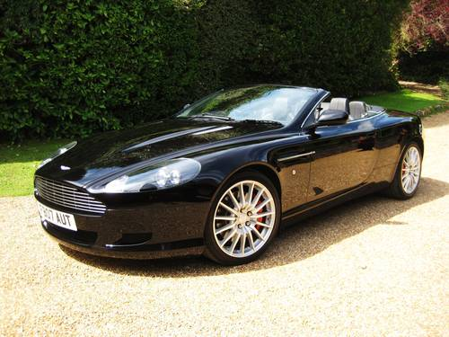2007 Aston Martin DB9 V12 Volante With Only 17,000 Miles From New For Sale (picture 1 of 6)