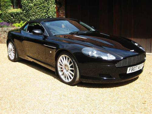 2007 Aston Martin DB9 V12 Volante With Only 17,000 Miles From New For Sale (picture 2 of 6)