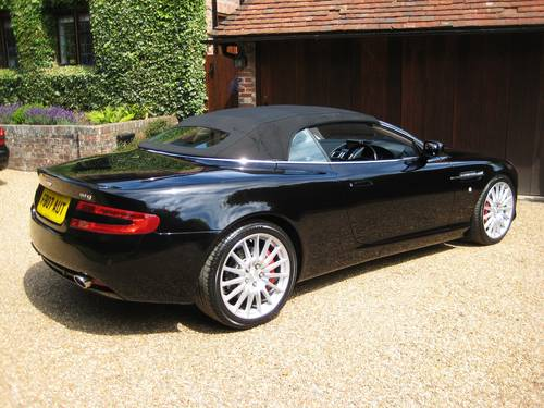 2007 Aston Martin DB9 V12 Volante With Only 17,000 Miles From New For Sale (picture 5 of 6)