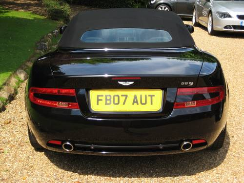 2007 Aston Martin DB9 V12 Volante With Only 17,000 Miles From New For Sale (picture 6 of 6)